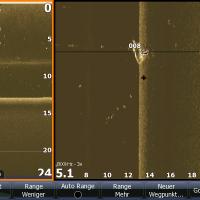 Screenshot vom Sonargerät